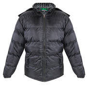 Perida Mens Cyclone Black Puff Jacket