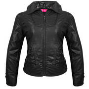 Aoxite Rebel Black Casual Jacket