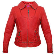 Aoxite Rebel Red Casual Jacket