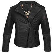 Классическая куртка Reputation Outlaw Black Casual Jacket