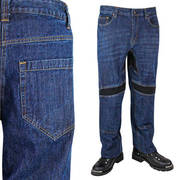 Xelement Throttle Denim Armored Motorcycle Pants