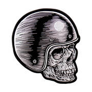Skull Rider Head Patch