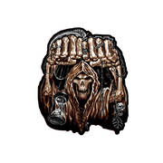 Нашивка Huge Fist Skull Patch Small