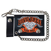 Live Free Leather Wallet