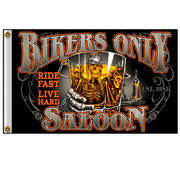 Флаг New Bikers Saloon Flag