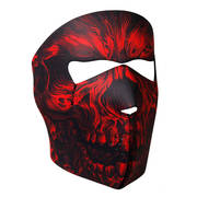 Головной убор Red Shredder Skull Face Mask