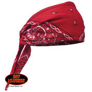Головной убор RED PAISLEY Old School Bandana