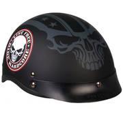 Мотошлем D.O.T. Helmet Stencil Skull