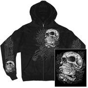 Sweet Demise Zip Up Hooded Sweat Shirt