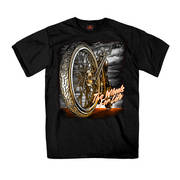 Футболка с коротким рукавом для байкеров Big Wheel T-Shirt