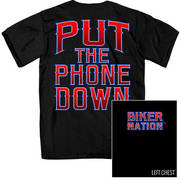 Put Down The Phone Double Sided T-Shirt