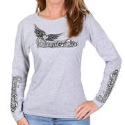Passion Wings Ladies Long Sleeve Shirt