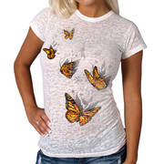 Майка (Топ) Butterfly Vision Ladies Burnout Tee