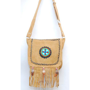 Purse Suede with Fringe
