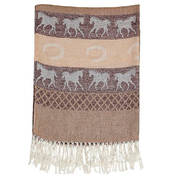 Шарф Brown Equestrian Scarf