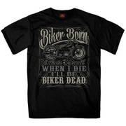 Футболка для байкеров Liquor Label T-Shirt