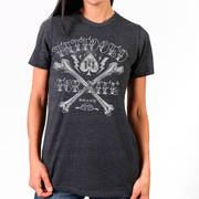 Big Bones Tattooed For Life Ladies Shirt
