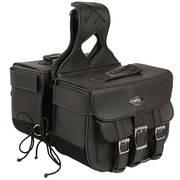 Three Buckle PVC Throw Over Saddlebags