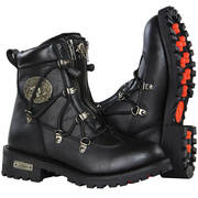 Women's Performance Black Starling Leather Boots