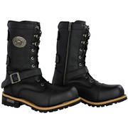 Performance Black Revolver Leather Boots