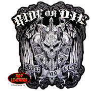 Нашивка Ride or Die Biker for Life Patch