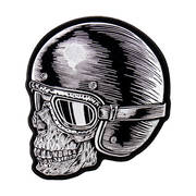 Нашивка Z Rider Skull Head Patch