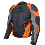 Mens Armored Race Textile Jacket