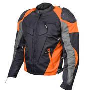 Текстильная мотокуртка Mens Armored Race Textile Jacket
