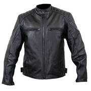 Кожаная мотокуртка Men's Padded Scooter Fury Motorycle Jacket