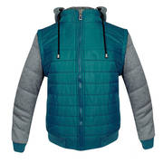 Alucar Mens Puff Vest Army Green Jacket