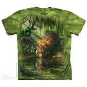 Футболка с тигром Enchanted Tiger