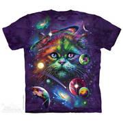 Футболка с изображением вселенной Cosmic Cat