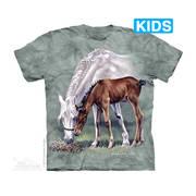 Футболка с лошадью Horses in Springtime Kids