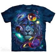 Футболка с изображением вселенной Lion Of Cosmos