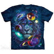 Футболка со львом Lion Of Cosmos