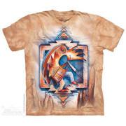Этническая футболка Just Keep Dancing