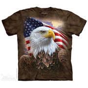 Футболка с изображением птиц Independence Eagle