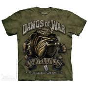Военная футболка с коротким рукавом Dawgs of War