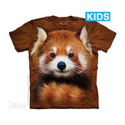 Футболка с изображением животных Red Panda Portrait Kids