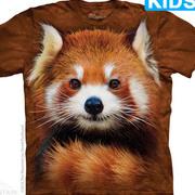 Футболка с медведем Red Panda Portrait Kids