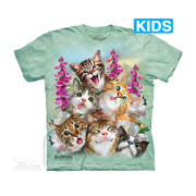 Футболка с кошкой Kittens Selfie Kids