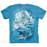 Футболка с изображением из водного мира Bergsma Dolphins