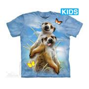 Fun-art футболка Meerkat Selfie Kids
