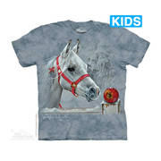 Футболка с лошадью Christmas Present Kids