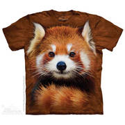 Футболка с изображением животных Red Panda Portrait
