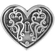 Значок Heart Lock Pin