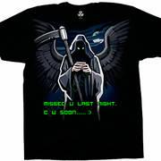 Fun-art футболка Grim Text