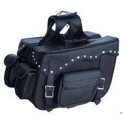 Мотокофра Black PVC Zip-Off Saddlebags