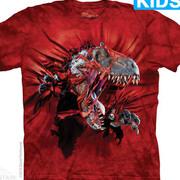 Футболка с изображением  динозавров Red Ripper Rex Kids