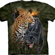Футболка с леопардом Two Jaguars